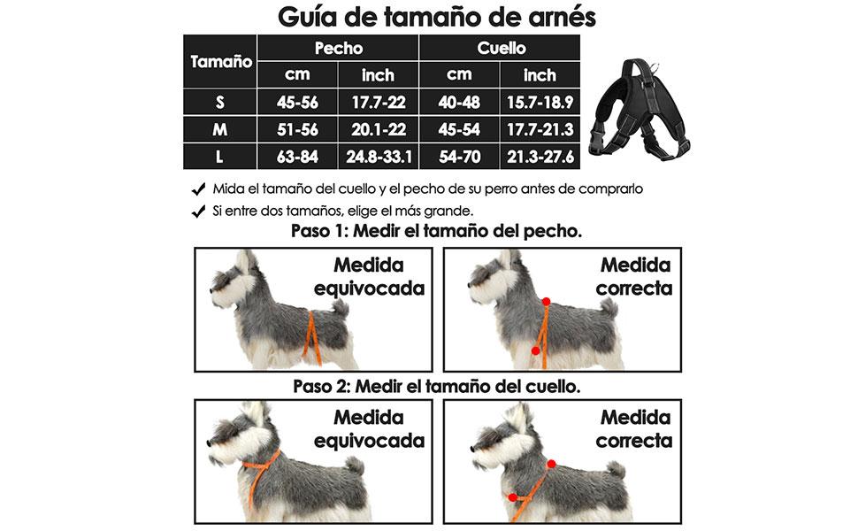 SlowTon Arnes para Perro, NinguÌ n tirón Chaleco del Perro arnés ...
