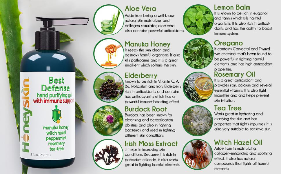 natural organic ingredients