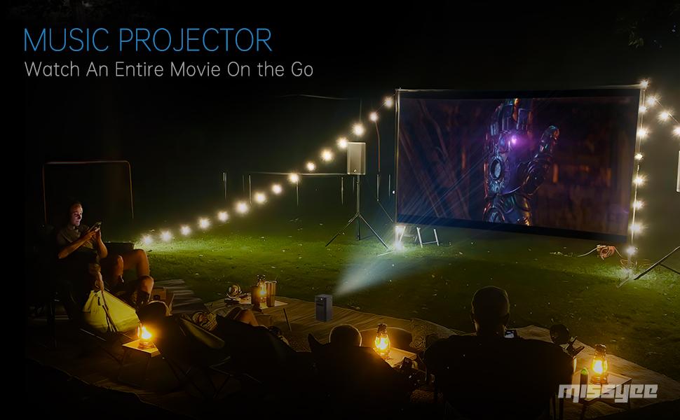 Music Projector