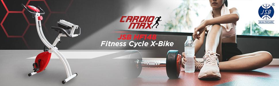 cardio max jsb hf148 magentic exercise bike
