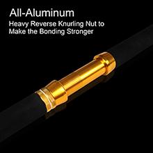 aluminum reel seat
