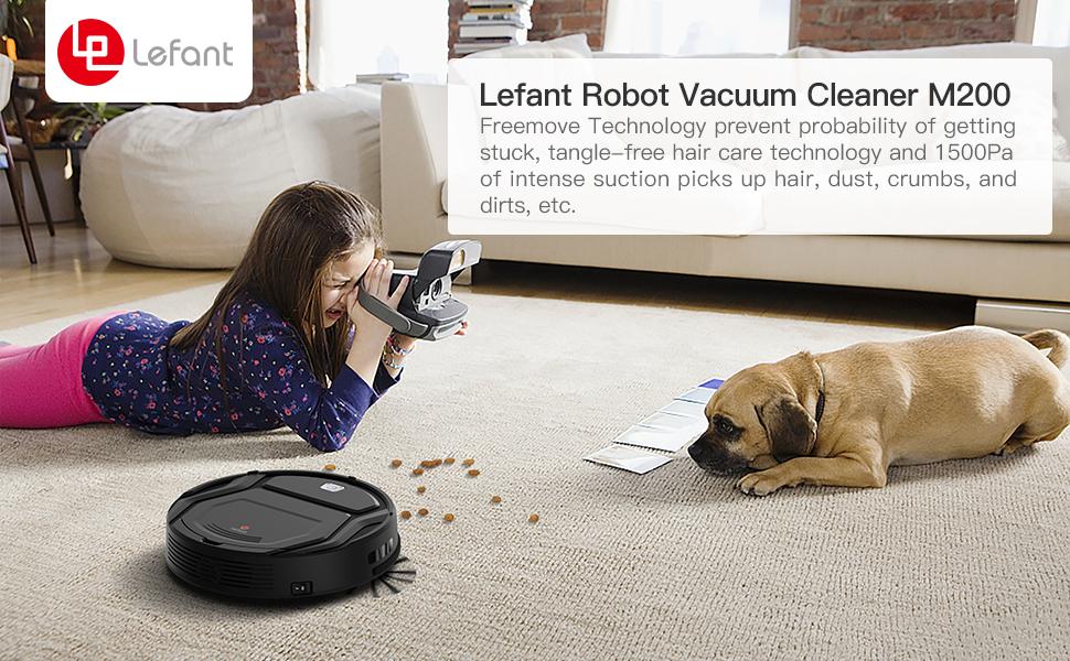 LEFANT M200 robot vacuum