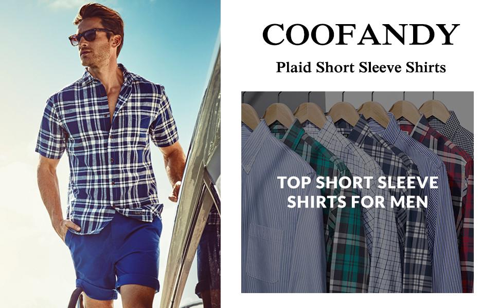 plaid short sleeve shirts