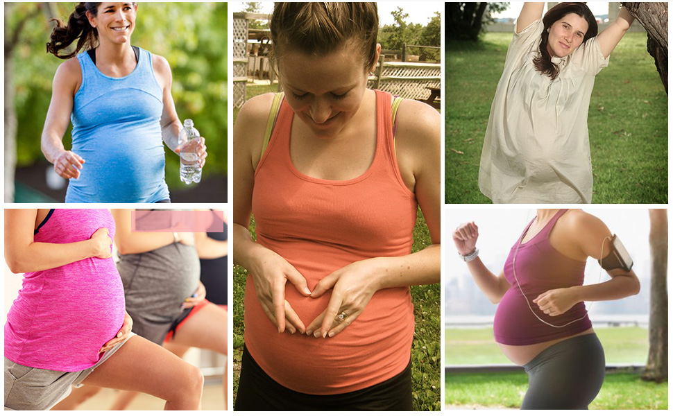 Summer maternity shorts