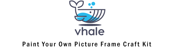 Vhale Paint Your Own Wooden Photo Frames