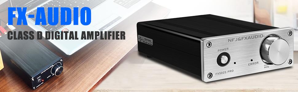 fx audio class d digital amplifier