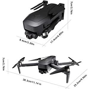 LIMITLESS drone dimensions