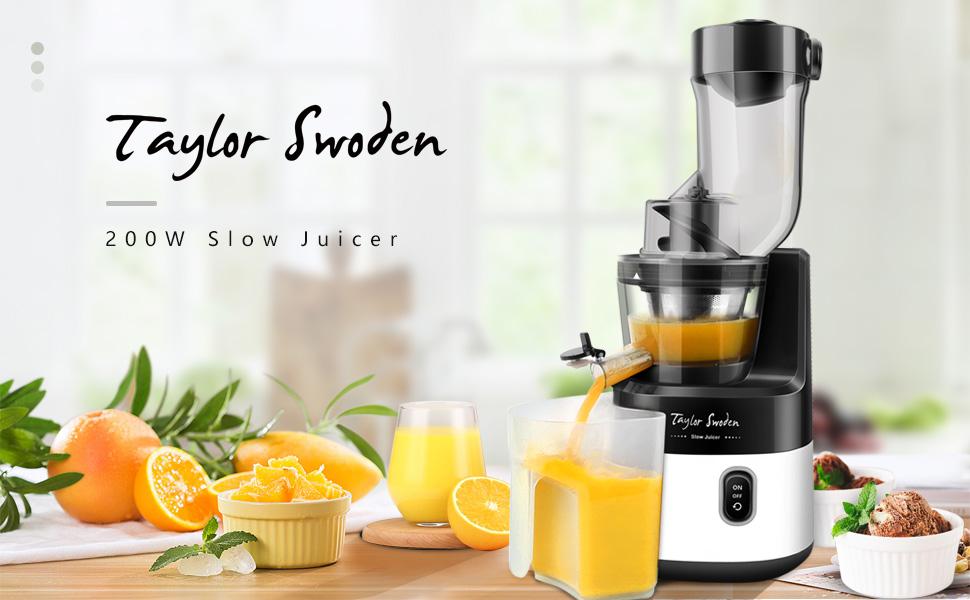 Taylor Swoden Slow joy - Licuadora de prensado en frío丨Licuadora ...