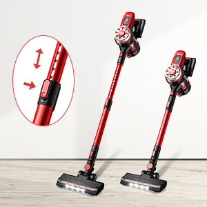 stick vacuum cordless easy to pour dust