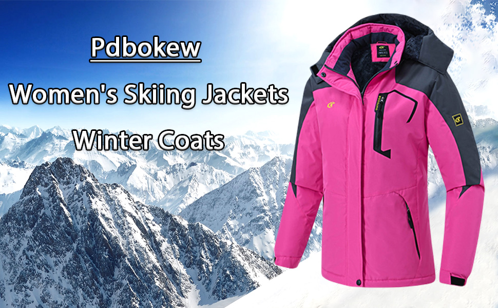 women's skiing jackets
