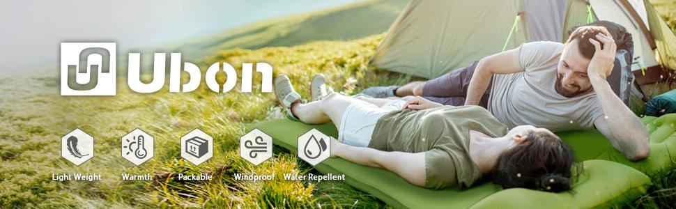 Ubon Double Self-inflating Sleeping Pad
