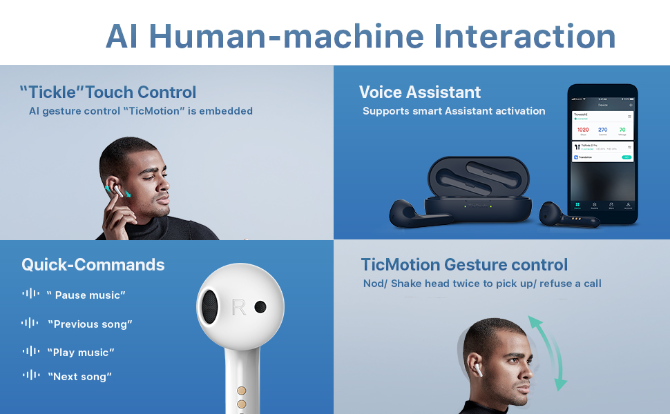 AI human-machine interaction