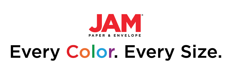 jam paper every color every size