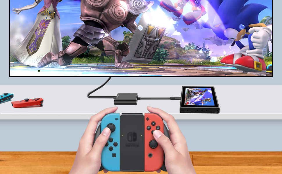 HDMI TV Adapter for Nintendo Switch
