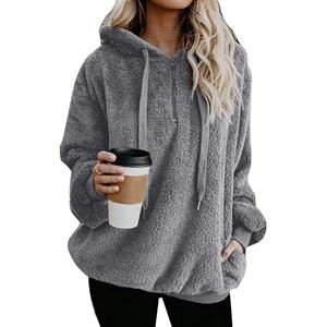 womens fleece pullover fuzzy hoodie sherpa pullover for women sherpa pullover womens