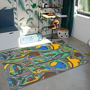 Diverse Dimensioni 100x150 cm Numeri Viola RugsX Tappeto per Bambini Numbers Wall-to-Wall Moquette Soggiorno Camera dei Bambini Tappetino Camera da Letto per Ogni Stanza