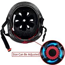 Adjustable kids helmet