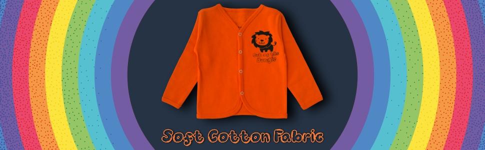 loungewear, infant front open tshirt , kids wear , comfort wear .