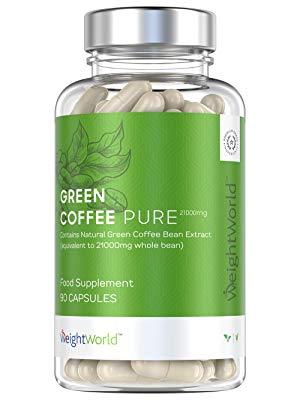 ricerca di estratto di chicco di caffè verde
