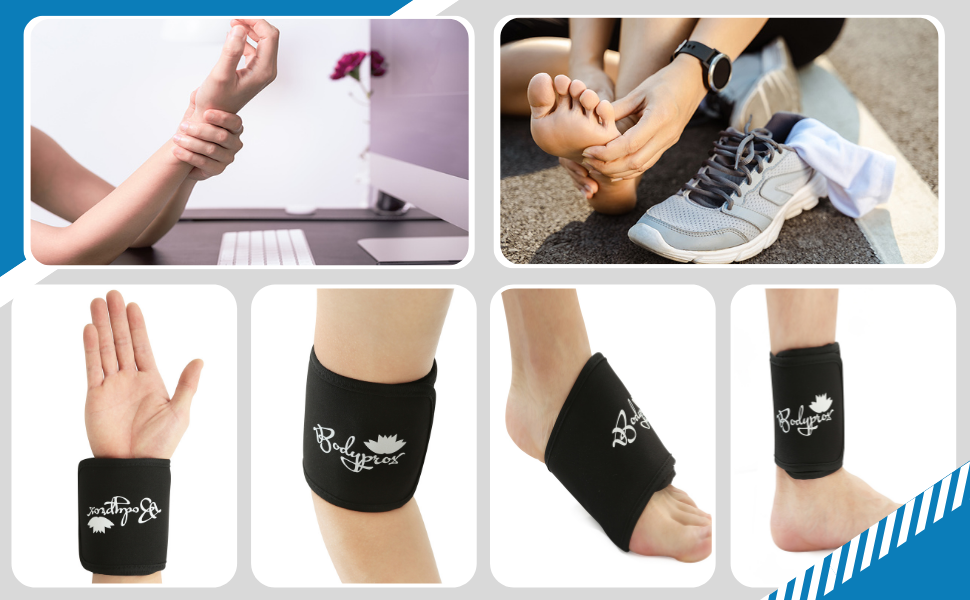 Bodyprox Cold & Hot Therapy Wrap, Reusable Gel Pack for Pain Relief