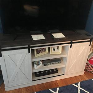 Sliding Door TV Stand