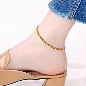 Rope Chain Anklets