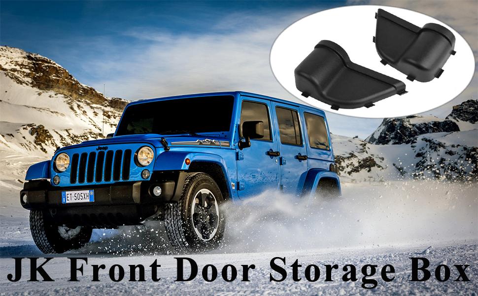 JK Front Door Storage Pockets