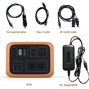 solar power station portable power generator rv power backup van lifer power station explorer