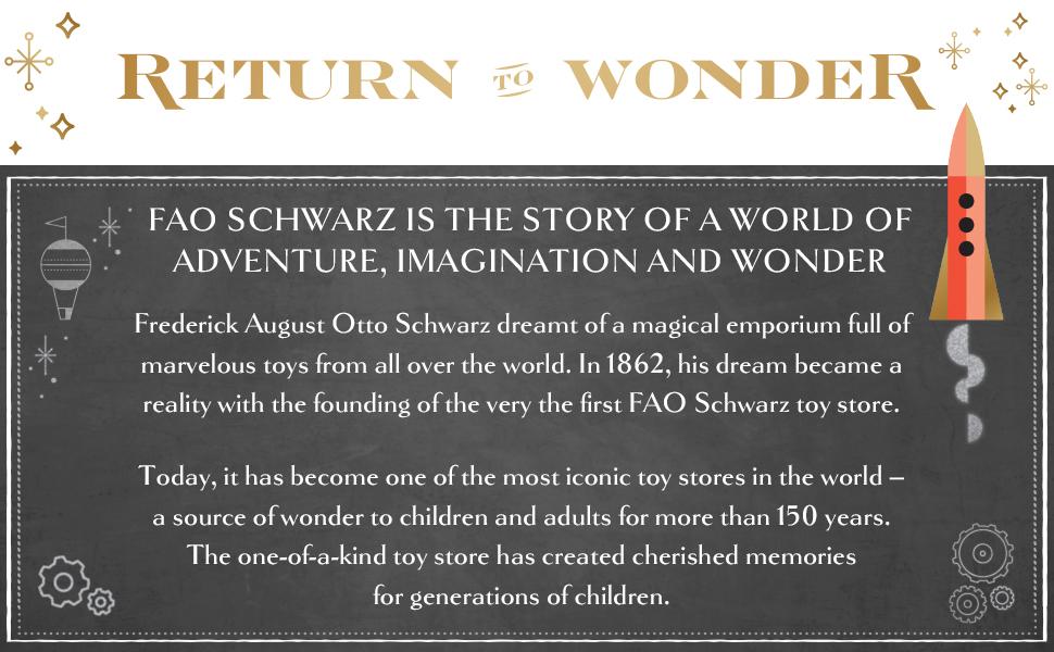 return to wonderment. The history of FAO Schwarz