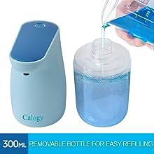 Calogy Blue Soap Dispenser