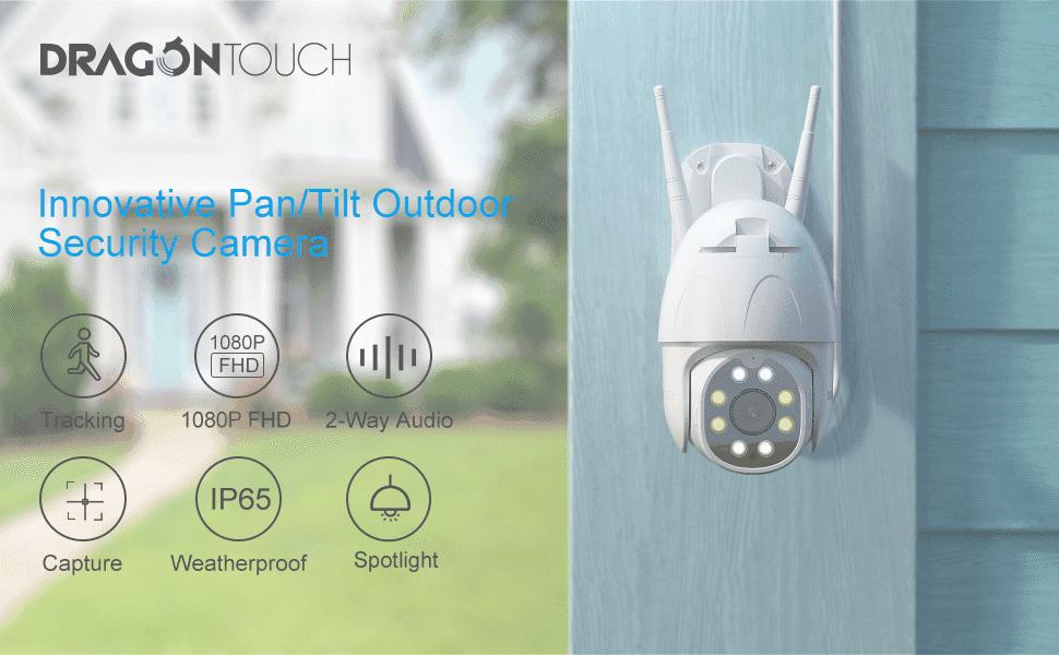 security camera outdoor waterproof outdoor security camera wifi ip camera Wi-Fi