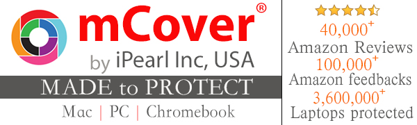 mCover iPearl Hard Shell Case for New 13.3