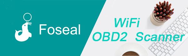 foseal OBD2 escáner WiFi Coche Diagnóstico Escáner Herramienta OBD2- Motor Luz Chequear Inálambrico Datos para Smartphone - Compatible con Android & iOS Dispositivo Lector de código de cochei: Amazon.es: Coche y moto