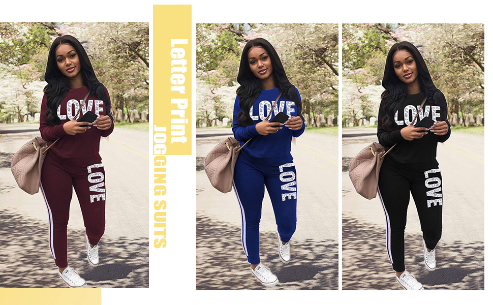 2 pieces tracksuit for women