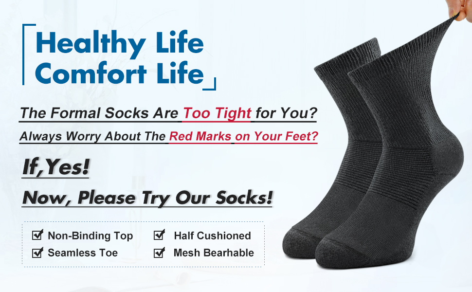 health comfort socks