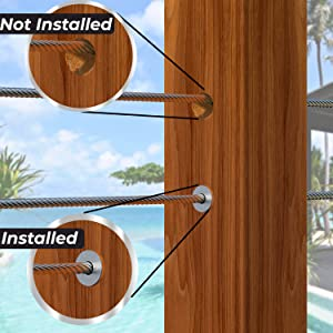 Cable Railing Kit - Protector Sleeve