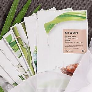 mizon, mizon joyful mask, joyful time essence mask sheet, mizon mask, korean mask sheet, joyful time
