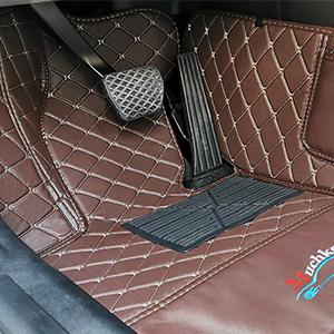 Driver's floor mat