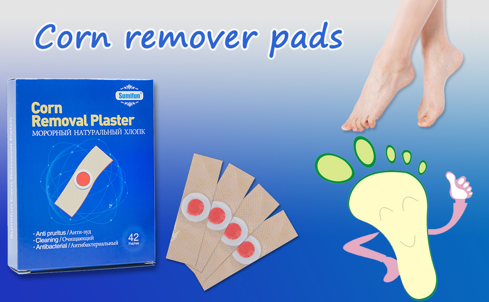 Our corn remover pads