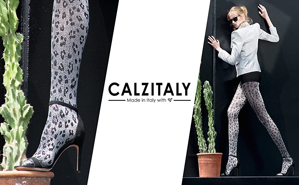 Collant moda, collant donna, calze moda, calze donna, collant lurex, calze lurex, collant fantasia