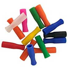 Colorful silicone tips