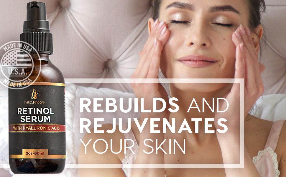 rebuilds and rejuvenates the skin