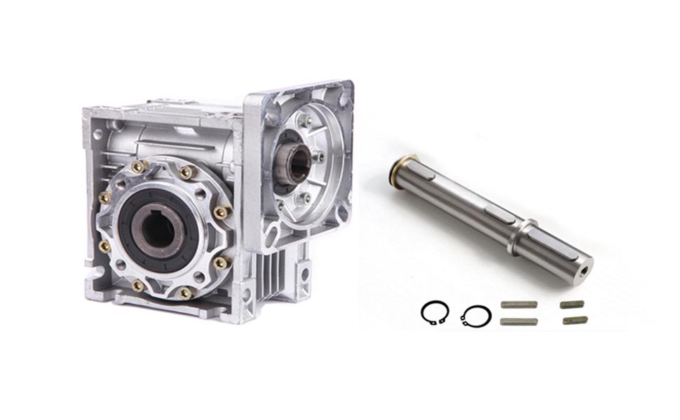 80B14 60:1 100:1 Schneckengetriebe Getriebemotor Gearboxs Speed Reducer NMRV050
