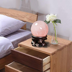 Wooden Stand for Crystal Sphere Quartz Ball Orb Holder Egg Base Hollow Wood Stand Globe Stone Decor