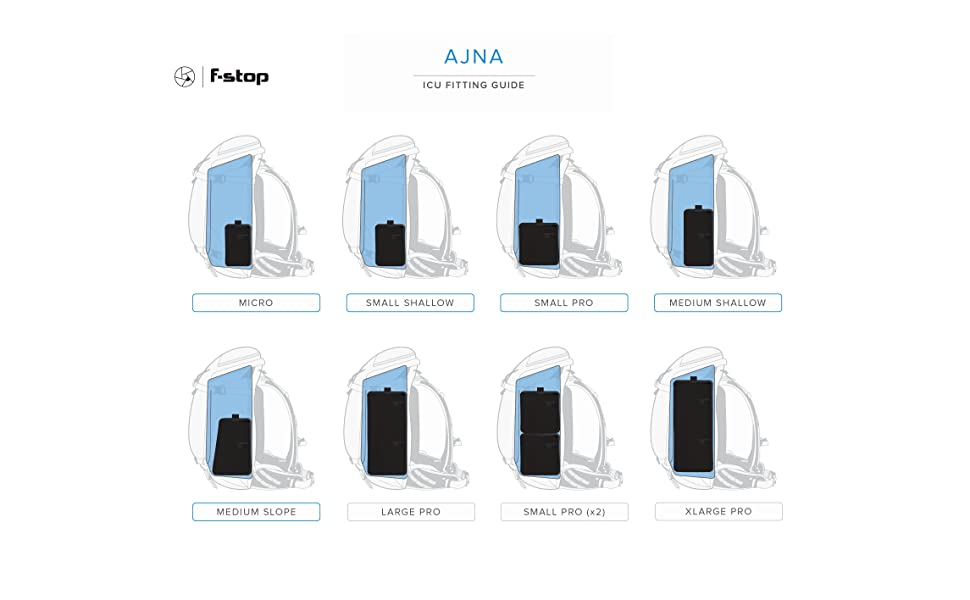 ajna f-stop icu protection gear photography backpack outdoor modular organization carry DSLR