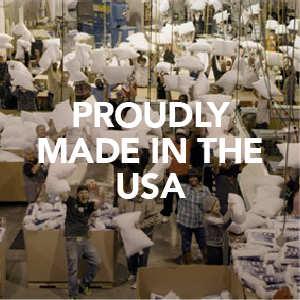 my pillow is proudly made in the usa
