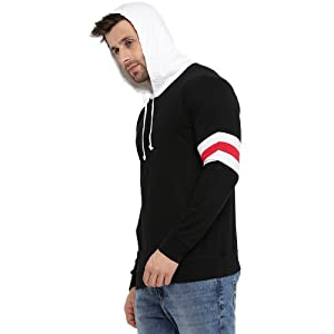 Attached hoodie