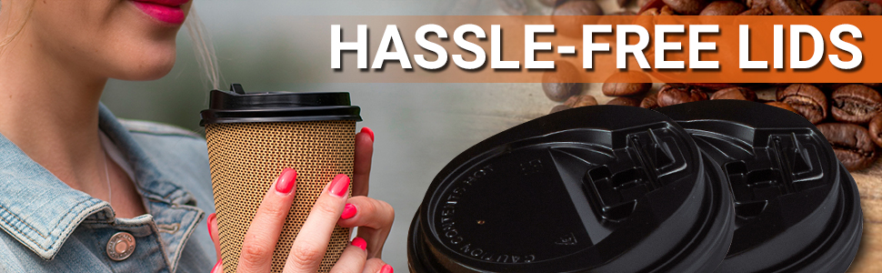 Hassle free lids