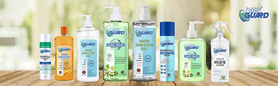 our disinfectant range