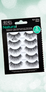 Ardell Natural 105 Multipack, 5 Pairs